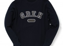 GOODENOUGH IVY-CREW SWEAT [ G.D.E.H ] - Indigo