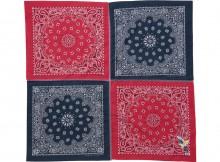 METAPHORE-BANDANA STALL - Red × Blue