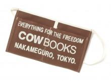 COW BOOKS-Book Vender Apron mini - Brown