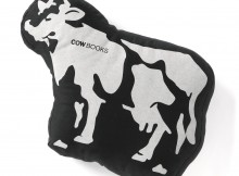 COW BOOKS-Padded Cow - Black