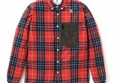 HABANOS-FLANNEL OUTDOOR POCKET SHIRTS - Red