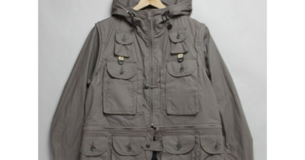 MOUNTAIN RESEARCH-Game Pocket Hoody - Gray