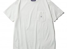NEPENTHES Purple Label - N Emb. Pocket Tee - Off White