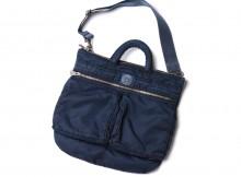 Porter Classic-SUPER NYLON HELMET CASE S - Blue