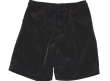 UNIVERSAL PRODUCTS-RAYON WIDE SHORTS - Black