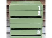 MOUNTAIN RESEARCH-HOLIDAYS in The MOUNTAIN 081 - Wood Box Combi.2 - Khaki