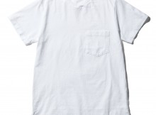 ENGINEERED GARMENTS-EG Workaday Crossover Neck Pocket Tee - Mens - White