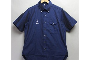 MOUNTAIN RESEARCH-B.D. S:S - Cotton broad - Navy