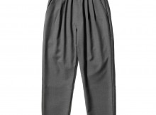 UNIVERSAL PRODUCTS-SUMMER WOOL EASY SLACKS - Gray