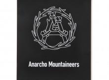 MOUNTAIN RESEARCH-Magnet Sheet - Aマーク:中期 - Black