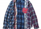 Rebuild by Needles - 7 Cuts Flannel Shirt