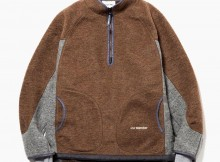 and wander-air wool pullover - Brown