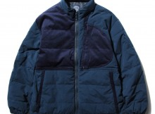 Porter Classic-WEATHER DOWN JACKET - Blue