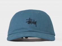 STUSSY-Basic Logo Low Pro Cap - Blue