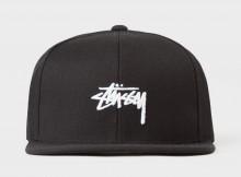 STUSSY-Stock FA17 Cap - Black