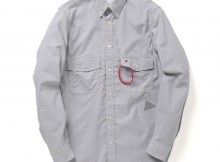 and wander-dry ox shirt (M) - Gray