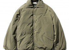 NEON SIGN-COACH DOWN JACKET - Olive