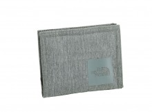 THE NORTH FACE-Shuttle Wallet - Medium Grey Heather