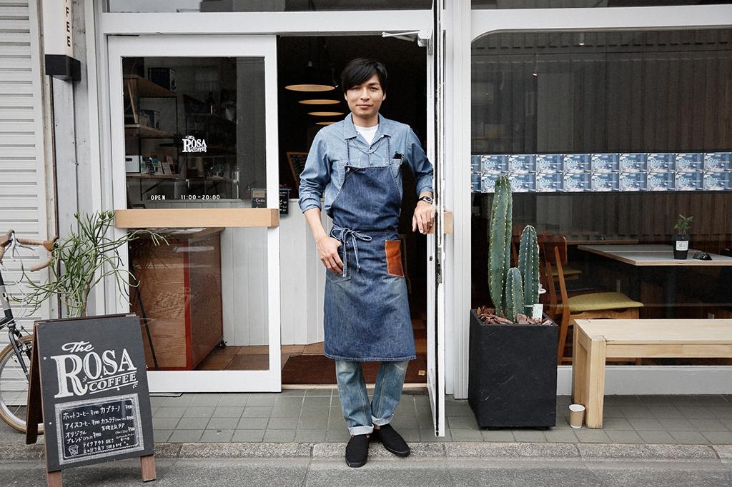 宮本幸司郎さん (31歳) / 職業:ROSA COFFEE オーナー兼バリスタ