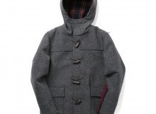 GOODENOUGH IVY-SCHOOL DUFFLE COAT - Grey