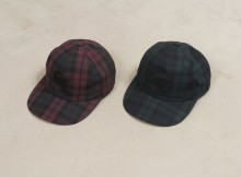 GOODENOUGH IVY-DARK CHECK B.B CAP - Black Watch