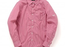 METAPHORE-GINGHAM CHECK SHIRTS - Red