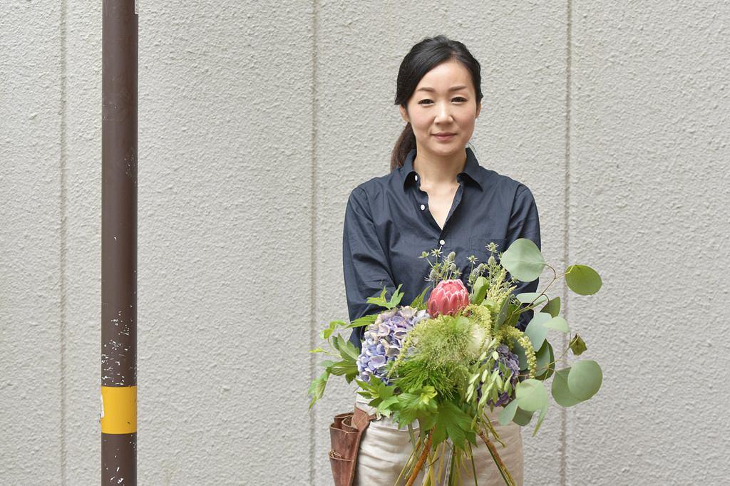 八木 瑞絵さん / 職業:花屋オーナー