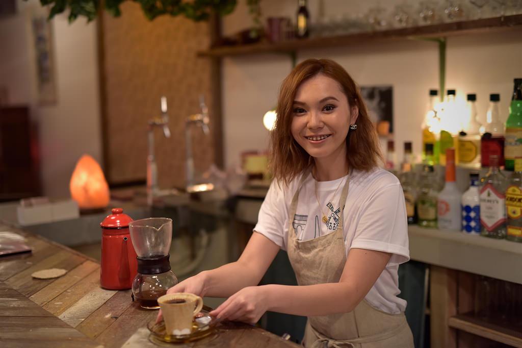 長友 翼さん / 職業:cafe&bar Coucou 店長