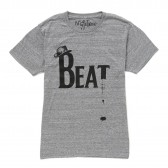 NuGgETS-NuGgETEE 「BEAT」 S:S-Tee - Heather