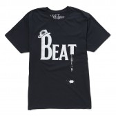 NuGgETS-NuGgETEE 「BEAT」 S:S-Tee - Navy