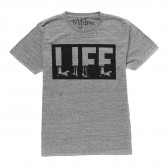 NuGgETS-NuGgETEE 「LIFE」 S:S-Tee - Heather