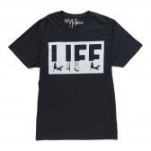 NuGgETS-NuGgETEE 「LIFE」 S:S-Tee - Navy