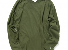Living Concept - REVERSIBLE L:S T-SHIRTS - Olive