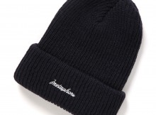 METAPHORE-KNIT CAP - Navy