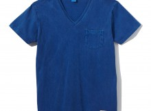 NAISSANCE-V-NECK T-SHIRT - Blue