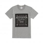 Mr.GENTLEMAN-AOYAMA BANDANA TEE - Grey