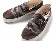 MACCHERONIAN 4001SK CAPTOE SLIP-ON SHOES - Camo