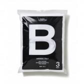 BEDWIN & THE UNDERTONES-3-PACK B NECK T 「MR.WHITE」 - White