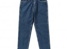 Living Concept-5POCKET CUT OFF DENIM PANTS : BIO WASH - B.Blue