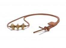hobo-Brass Diamond Beads Necklace