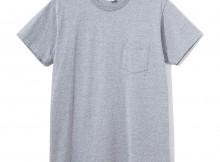 NAISSANCE-CREW NECK T-SHIRT - Gray