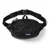 patagonia-Lightweight Travel Hip Pack - Black