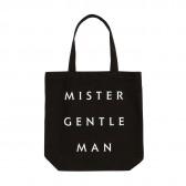 Mr.GENTLEMAN-MISTER GENTLEMAN TOTE - Black
