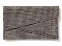 FLISTFIA-Stole - Middle Gray Check