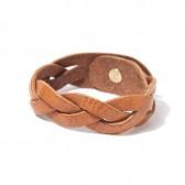 ROBERU - Braided bracelet Narrow - Camel