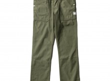 SASSAFRAS-FALL LEAF PANTS - Back Satin - Olive