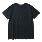 NEPENTHES Purple Label - N Emb. Pocket Tee - Navy
