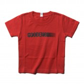 GOODENOUGH-PRINT TEE - MOTION (KIDS) - Red