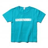 GOODENOUGH-PRINT TEE - MOTION (KIDS) - Turquoise