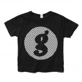 GOODENOUGH-PRINT TEE - LOGO1 (KIDS) - Black-B
